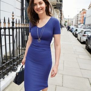 Boden Royal blue honor ponte dress